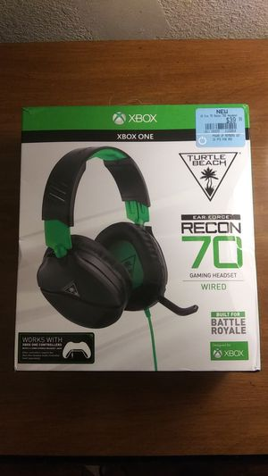 TURTLE BEACH 70 WIRED XBOX HEADSET for Sale in Santa Ana, CA