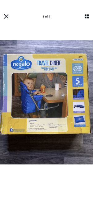 Travel dinner chair for kids for Sale in San Dimas, CA