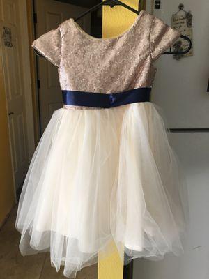 Flower girl dress size 5 for Sale in Auburn, WA