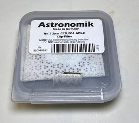 Astronomik Ha 12nm For Canon APS-C for Sale in Kent,  WA