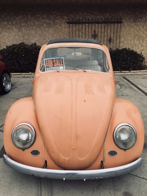 1966 VW bug (grafted in Original rag top assembly) for Sale in Chino, CA