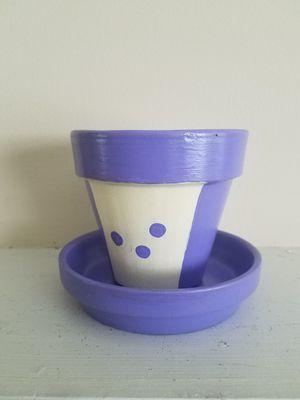 Purpleenie herb/plant pot for Sale in Atlanta, GA