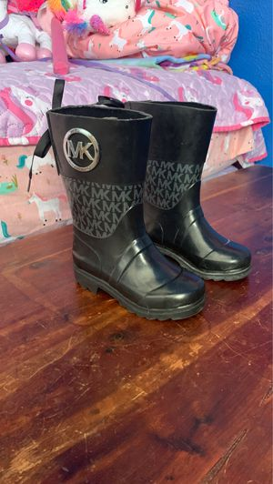 Michael Kors rain boots for Sale in Stockton, CA