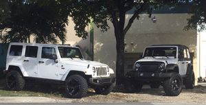 Jeep lift kit and suspension parts for Sale in Miami, FL