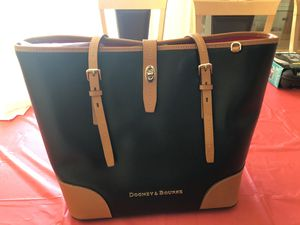 Genuine Dooney & Burkey Large Leather Bag/Purse for Sale in Buffalo Grove, IL