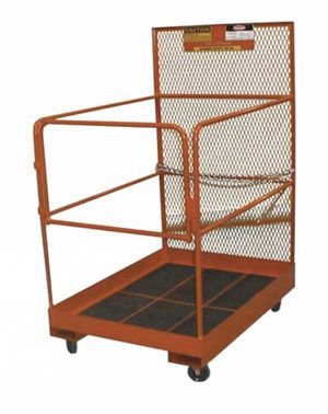 BALLYMORE Liftable Work Platform, Forklift cage for Sale in Fremont, CA
