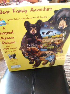 New sealed puzzle bears. By SUNSOUT for Sale in Eugene, OR