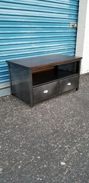Small industrial style metal TV stand. Brand is Hillsdale Furniture - Urban Quarters. for Sale in Phoenix, AZ