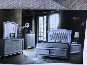 Brand new king size bedroom set $1599. for Sale in Hialeah, FL