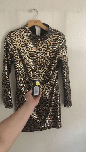 Sequin leopard topshop Dress NWT for Sale in Strongsville, OH