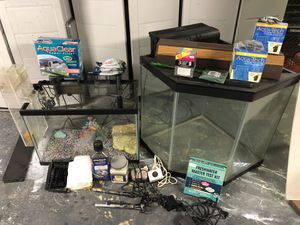 Fish tanks and Accessories for Sale in Carnegie, PA