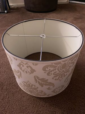 1 Lamps plus Lamp shade for Sale in Los Angeles, CA