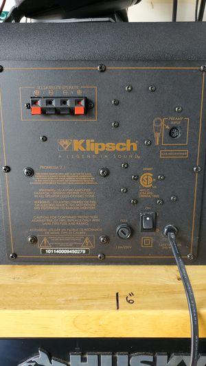 Klipsch THX 2.1 for Sale in Spring Valley, CA