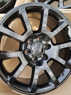 "20"" GM black factory stock wheels/rims sierra yukon denali NEW SET! for Sale in Bolingbrook,  IL"