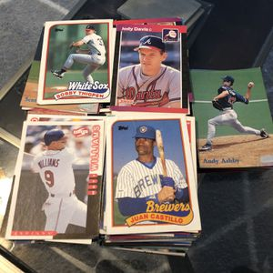 Over 200 1980's And Up Collectible Baseball Cards for Sale in Marietta, GA