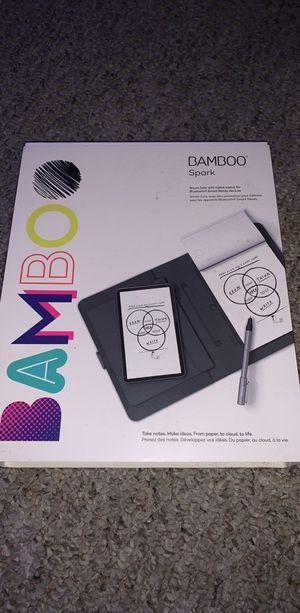 Wacom bamboo spark sketchbook tablet for Sale in Orlando, FL