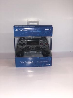 Brand New Steel Black PS4 Dualshock 4 Wireless Controller for Sale in Lincoln, NE