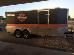 16' Harley motorcycle trailer for Sale in Tolleson, AZ