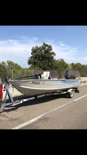 "16""foot aluminum boats for Sale in San Diego, CA"