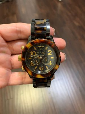 Tortoise shell Nixon watch, good condition. for Sale in Chandler, AZ
