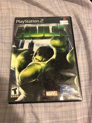Hulk PS2 for Sale in South Jordan, UT