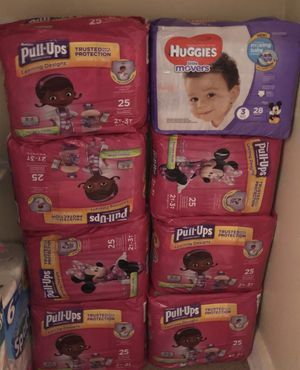 Pull-ups Huggies Diapers for Sale in Winter Park, FL