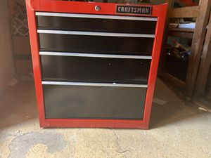4 drawer tool chest for Sale in Carlstadt, NJ