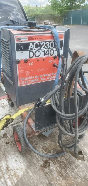 AC DC welder 220v for Sale in Vancouver, WA