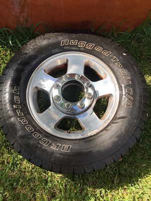 F-250 tires and perfect condition for Sale in Dallas, TX