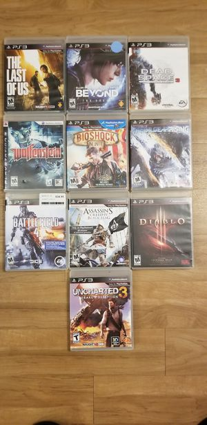 PS3 GAMES BUNDLE for Sale in Dallas, TX