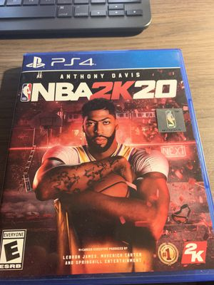 PS4 2k20 for Sale in Annandale, VA