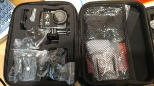 4k sports camera go pro BRAND NEW + Xmas FREE GIFT for Sale in Bloomington, CA