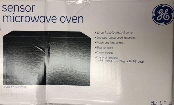 GE sensor microwave oven