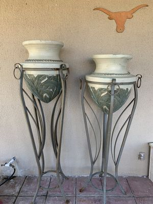 Large Flower Pot Stands for Sale in Buda, TX