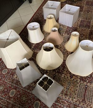 Variety of Gorgeous High End Lamp Shades - pantallas para lámparas for Sale in Miami, FL