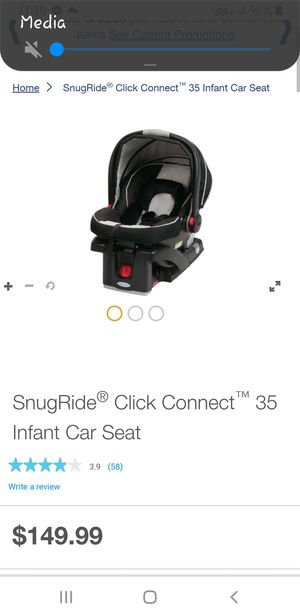 Graco Snug Ride Click & Connect for Sale in Las Vegas, NV