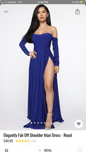 Royal maxi dress for Sale in Victorville, CA