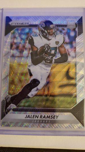 2016 Panini PRIZM Jalen Ramsey Blue Wave 100/149 for Sale in Glendale, AZ