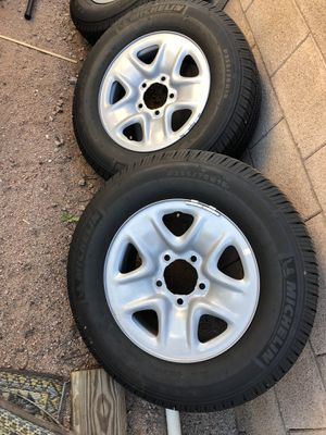 Still brand new 2018 tundra rims and tires for Sale in Apache Junction, AZ