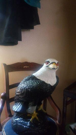 Eagle statue ceramic yard figurine home decor for Sale in Snohomish, WA
