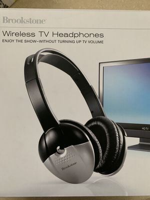 Wireless TV Headphones - Husband used these to watch movies and sports late at night. The rest of us in the house could sleep :-) for Sale in Las Vegas, NV