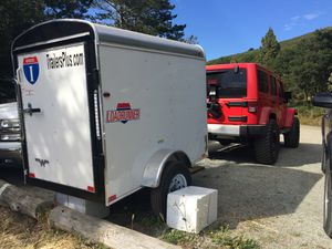 Interstate Enclosed Trailer 4x6 for Sale in Half Moon Bay, CA