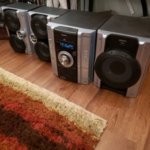Sony MHC-GX450 Hi-Fi Stereo System for Sale in Chicago, IL