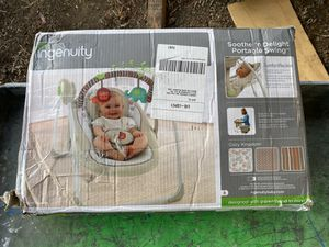 Ingenuity Soothe'n Delight Portable Swing - Cozy Kingdom for Sale in Corte Madera, CA