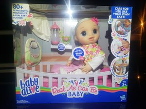 Real as can be baby alive for Sale for sale  Wadesville, IN