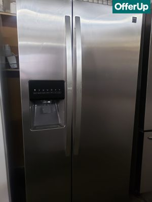 🚚💨Side by Side Kenmore Refrigerator Fridge Stainless Steel #1150🚚💨 for Sale in Upland, CA