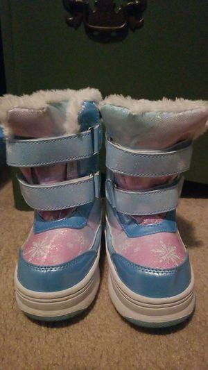 Girls Winter Boots (Frozen) for Sale in Tewksbury, MA