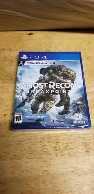 Ghost Recon Breakpoint Brand New PS4 for Sale in Pomona, CA