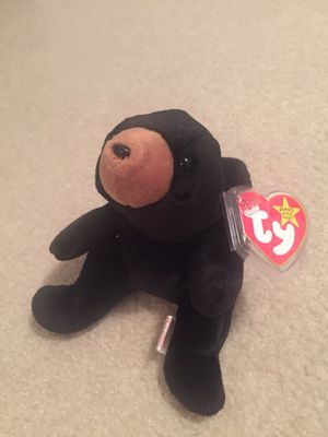 """Rare Ty Beanie Babies """"Blackie"""" 1st Edition Date of Birth-July 15th 1994 for Sale in Wichita, KS"""