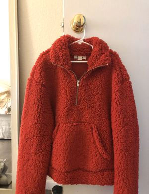 Red Furry Jacket for Sale in Aurora, CO